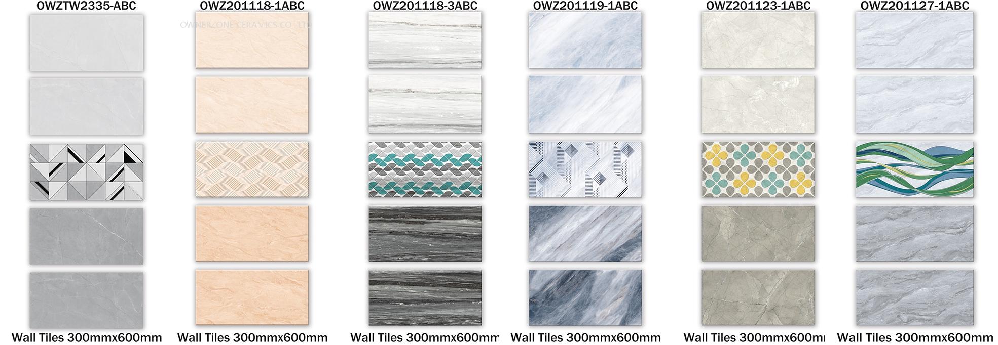 New design wall tile