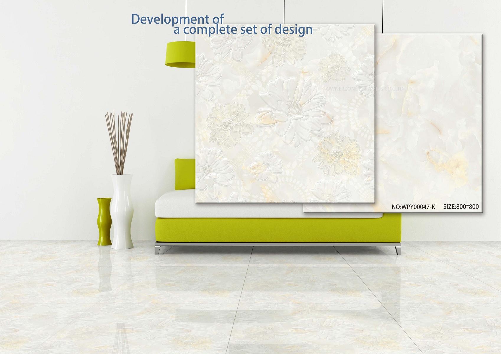 The design of flower series of new watermark